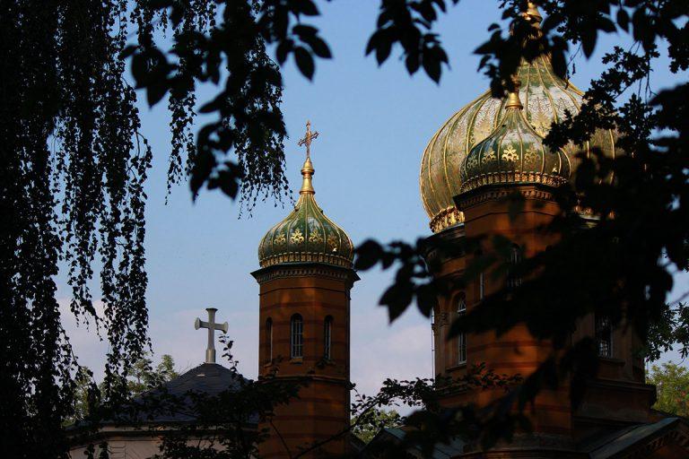 Église orthodoxe russe (cimetière historique de Weimar)