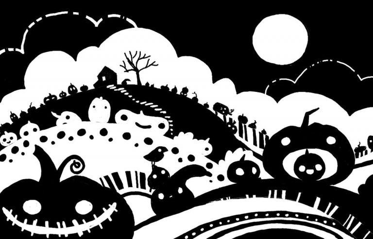 Croquis numérique : simple lune
