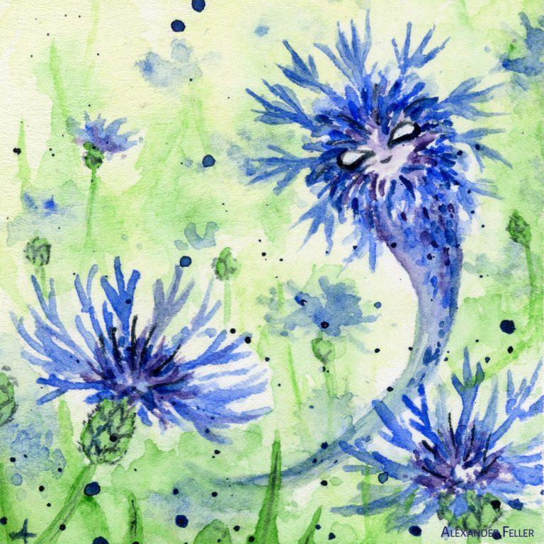 Esprit du bleuet