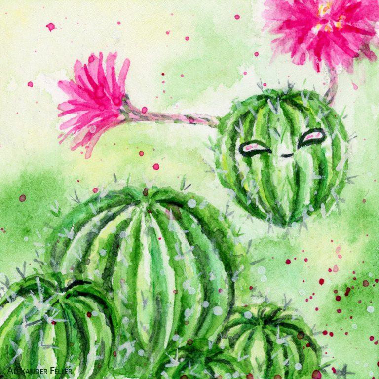 Esprit du cactus oursin