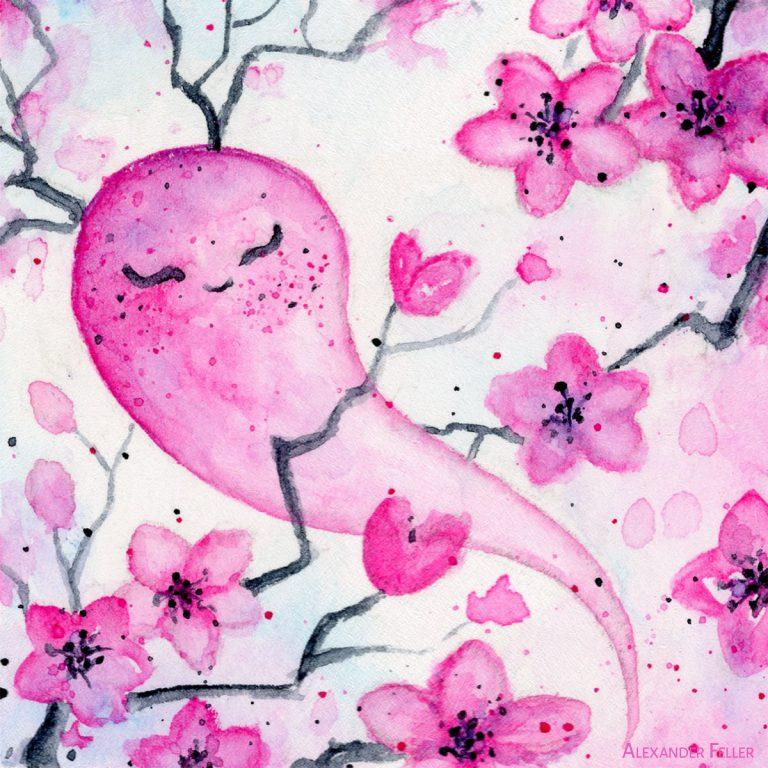 Esprit des fleurs de cerisier