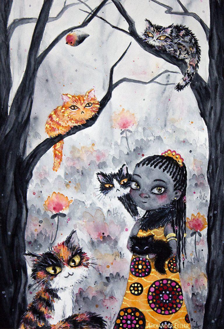 La petite Princesse aux Chats